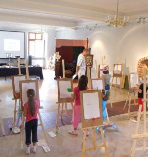 W pracowni malarza